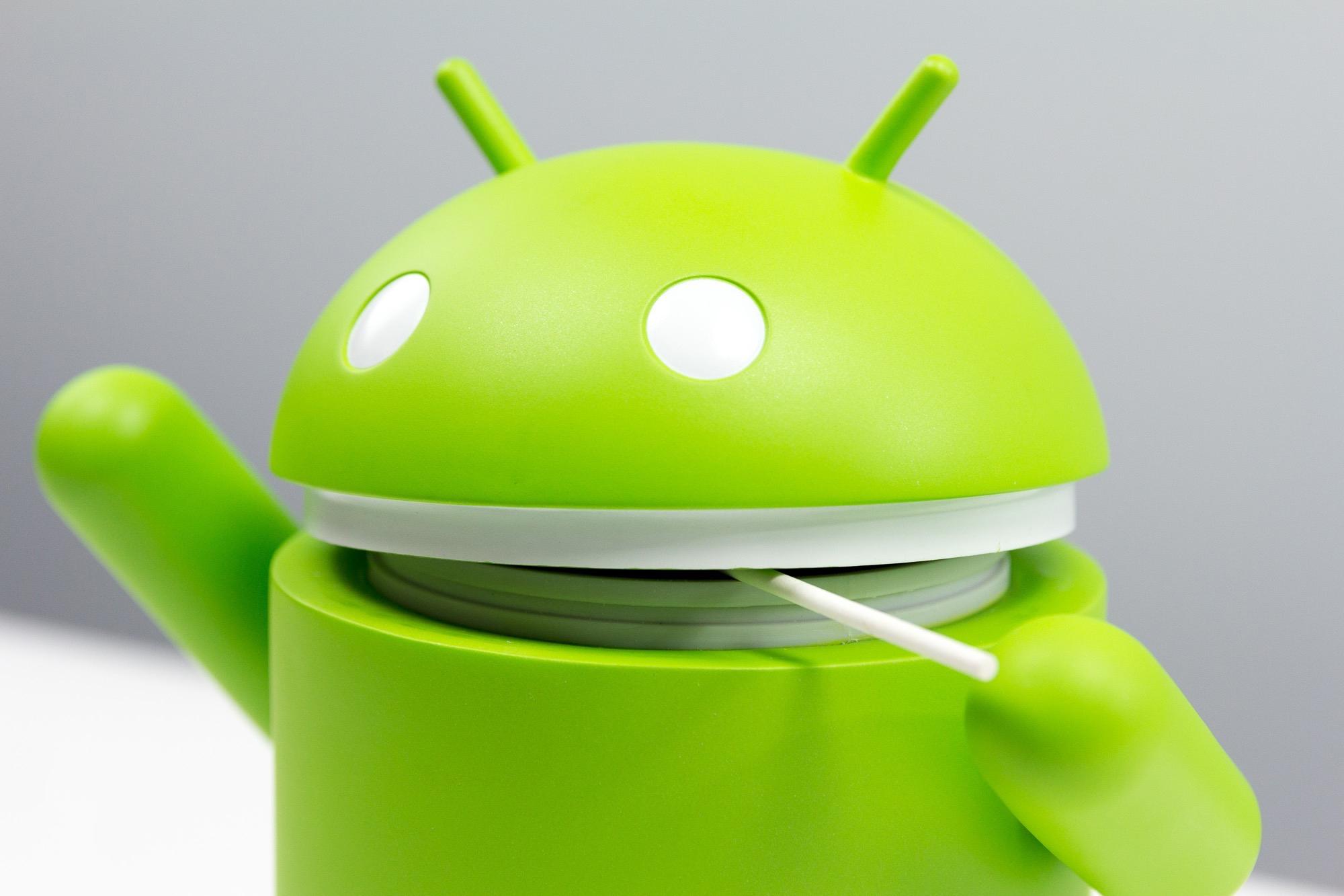 Android Lollipop Robô