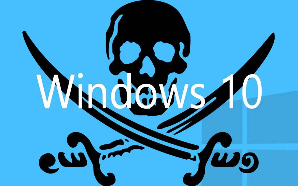Atualização para Windows 10 Pirata