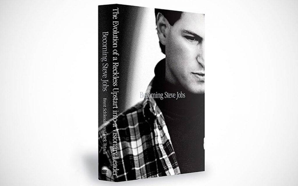 Capa do livro Becoming Steve Jobs