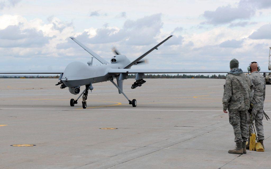 Drone Americano mata terrorista