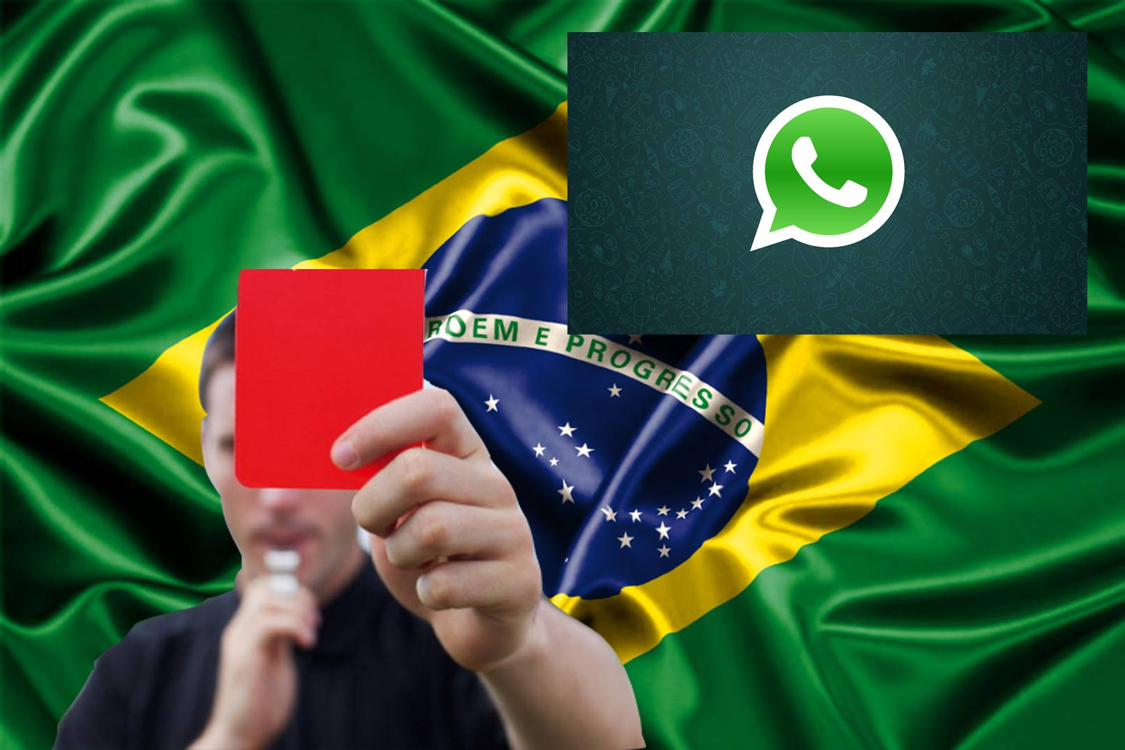 WhatsApp fora do Brasil