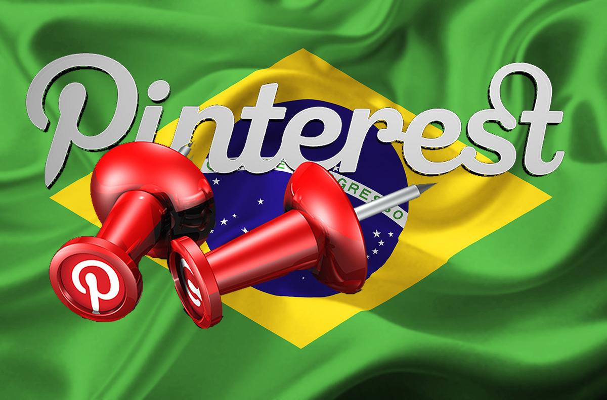 pinterest no Brasil
