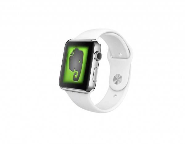 Apple Watch com Evernote