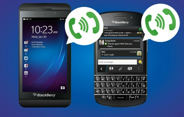 WhatsApp para Blackberry Libera Chamadas de Voz