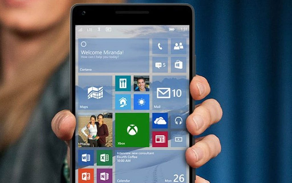 Xiaomi Mi4 Rodando Windows 10