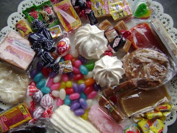 Balas, doces e guloseimas