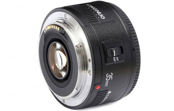 Lente Fixa Yongnuo 35mm f/2
