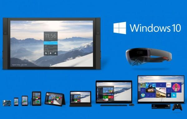 Windows 10 em 7 versões