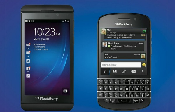 Blackberry com Android