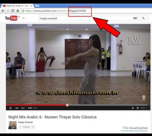 Capturar imagem do youtube