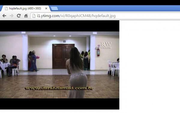 Capturar imagem do youtube grande
