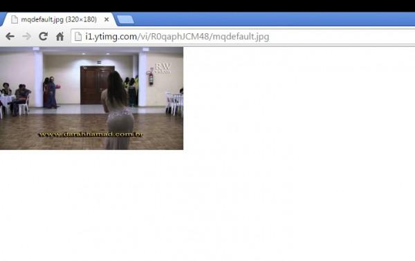 Capturar imagem do youtube media