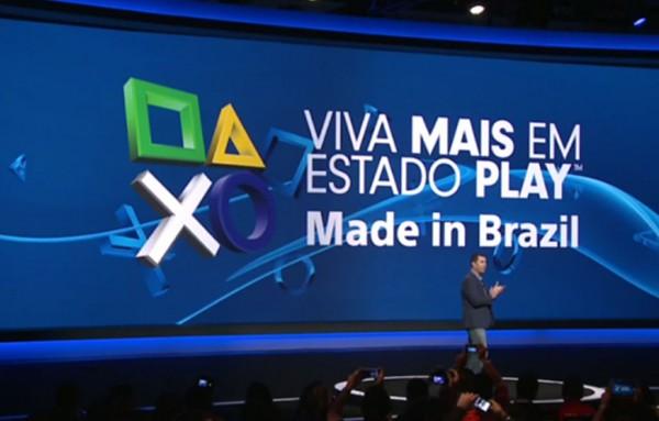 Playstation 4 será fabricado no Brasil