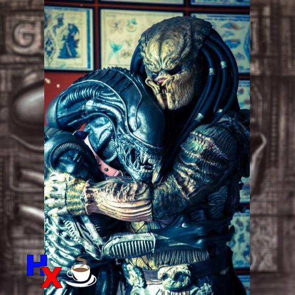 alien vs predador namorados
