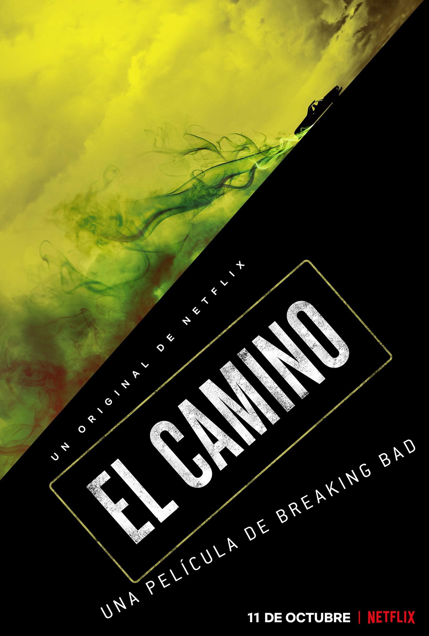 Poster de El Camino: A Breaking Bad Movie