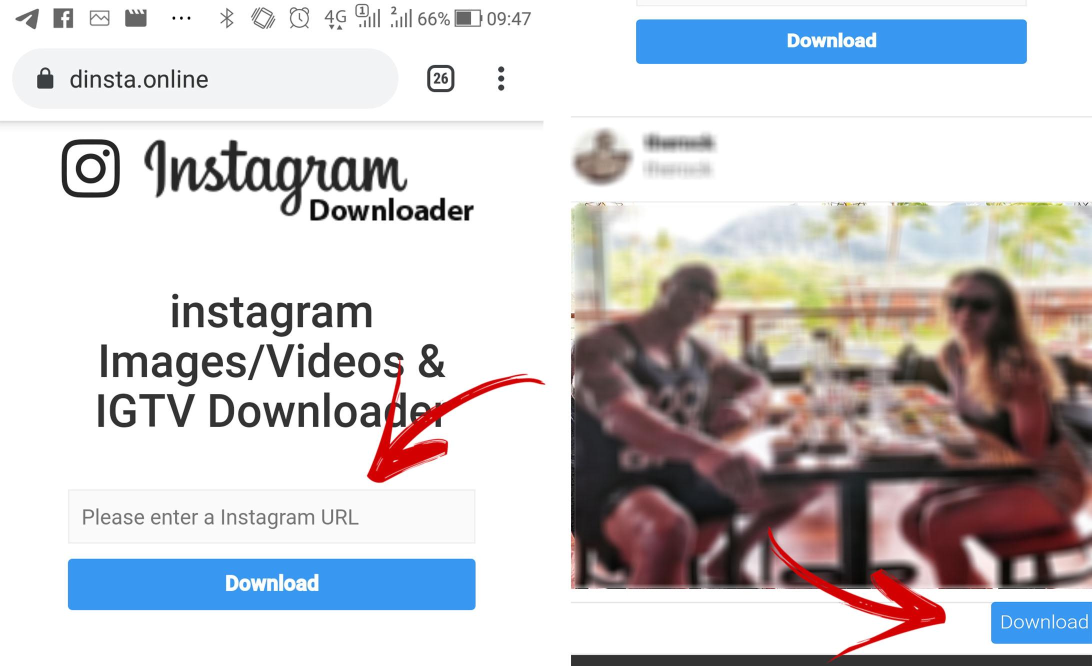 Como salvar as imagens do Instagram usando o Smartphone