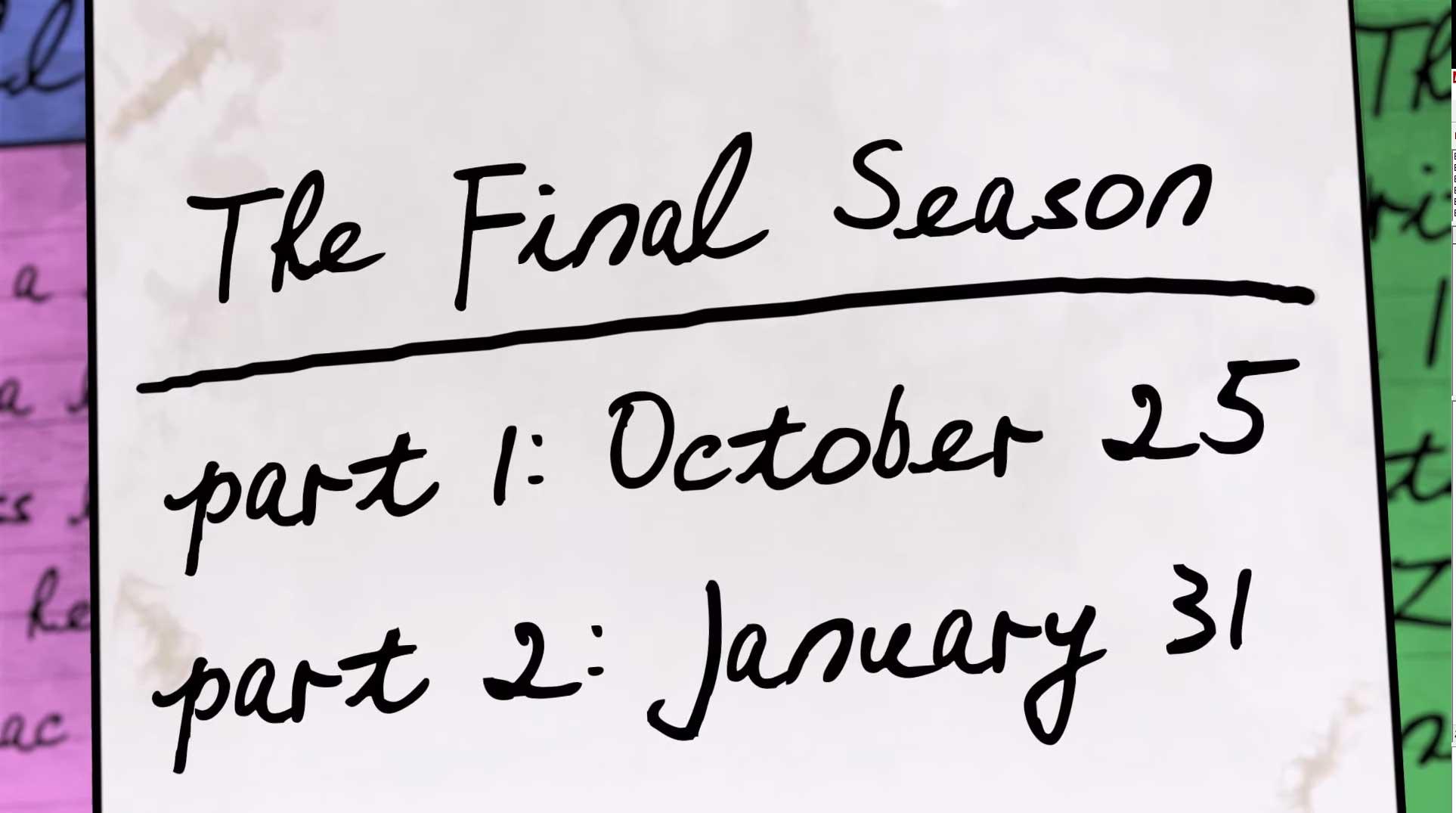 A sexta temporada de BoJack Horseman a última da série, será dividida em duas partes.