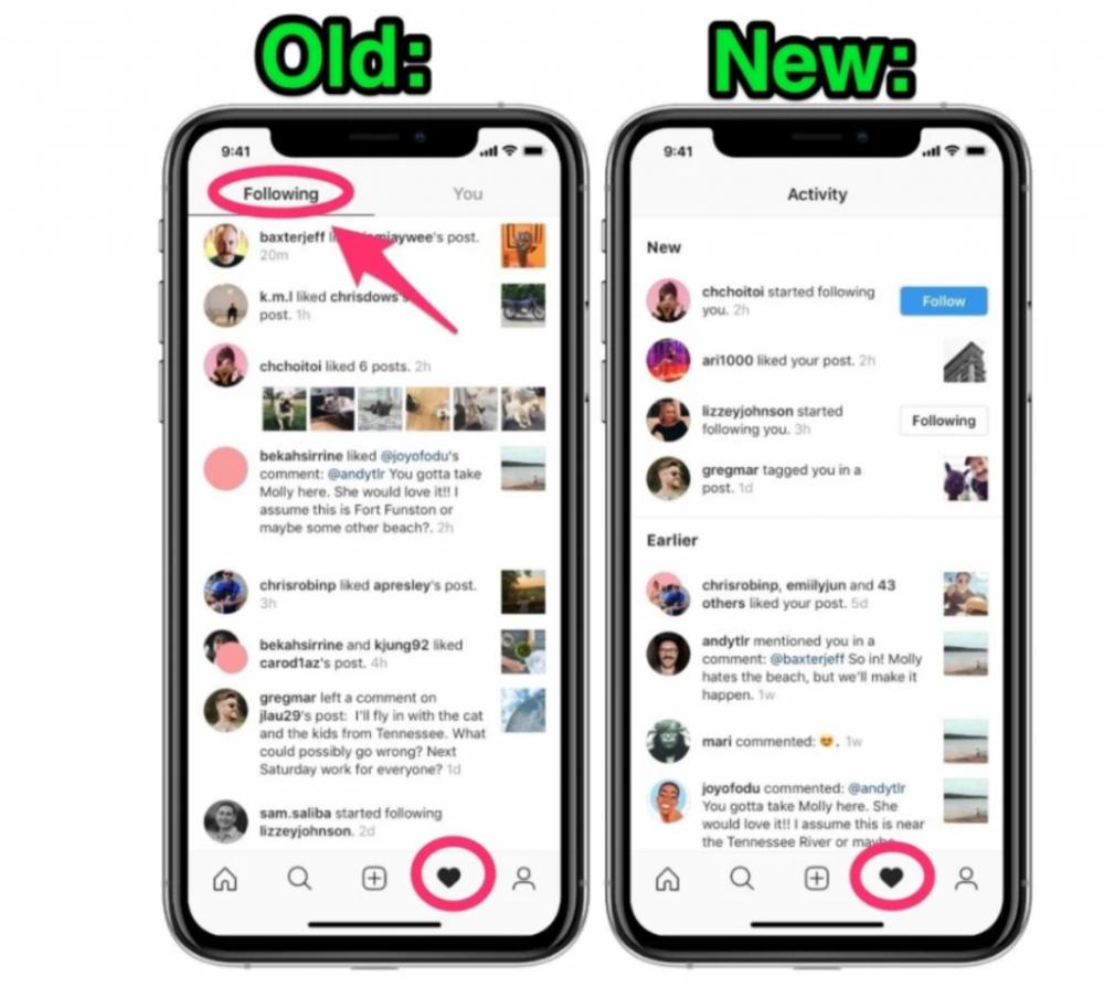 Segundo o esta imagem divulgada no site buzzfeed, o instagram vai deixar de divulgar  atividades de quem estamos seguindo na rede social.