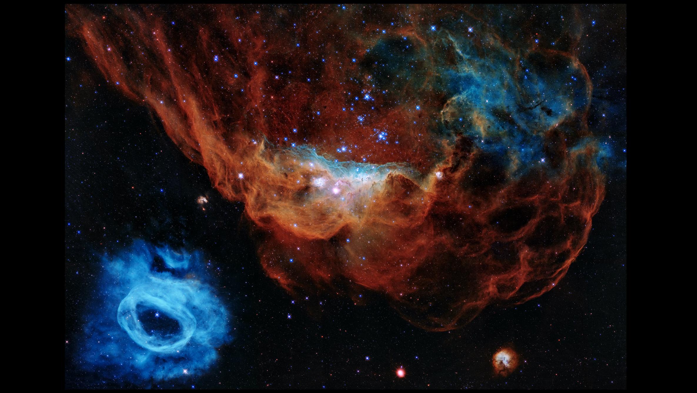 Telescópio Hubble comemora 30 anos - foto comemorativa