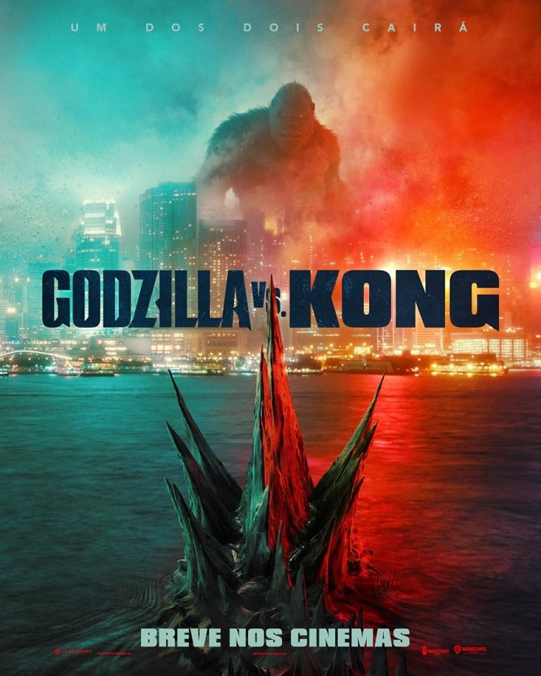 Pôster do filme Godzilla_vs_Kong