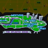 Mapa de Metro City