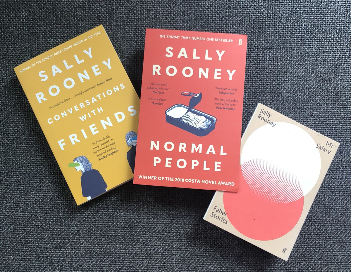 Livros de Sally Rooney
